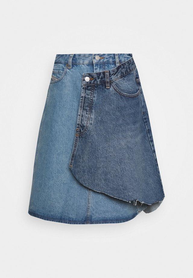 TOBY SKIRT - Spódnica jeansowa - light blue denim