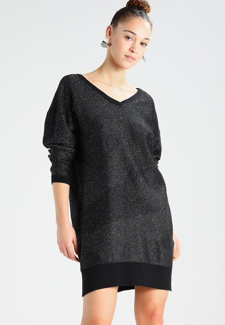 Diesel - M-STARRY DRESS - Jumper dress - schwarz