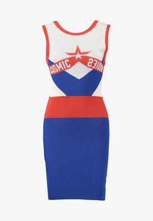 M-COSMIKA DRESS - Fodralklänning - blue