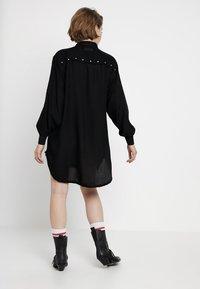 Diesel - SUPER DRESS - Korte jurk - black - 2
