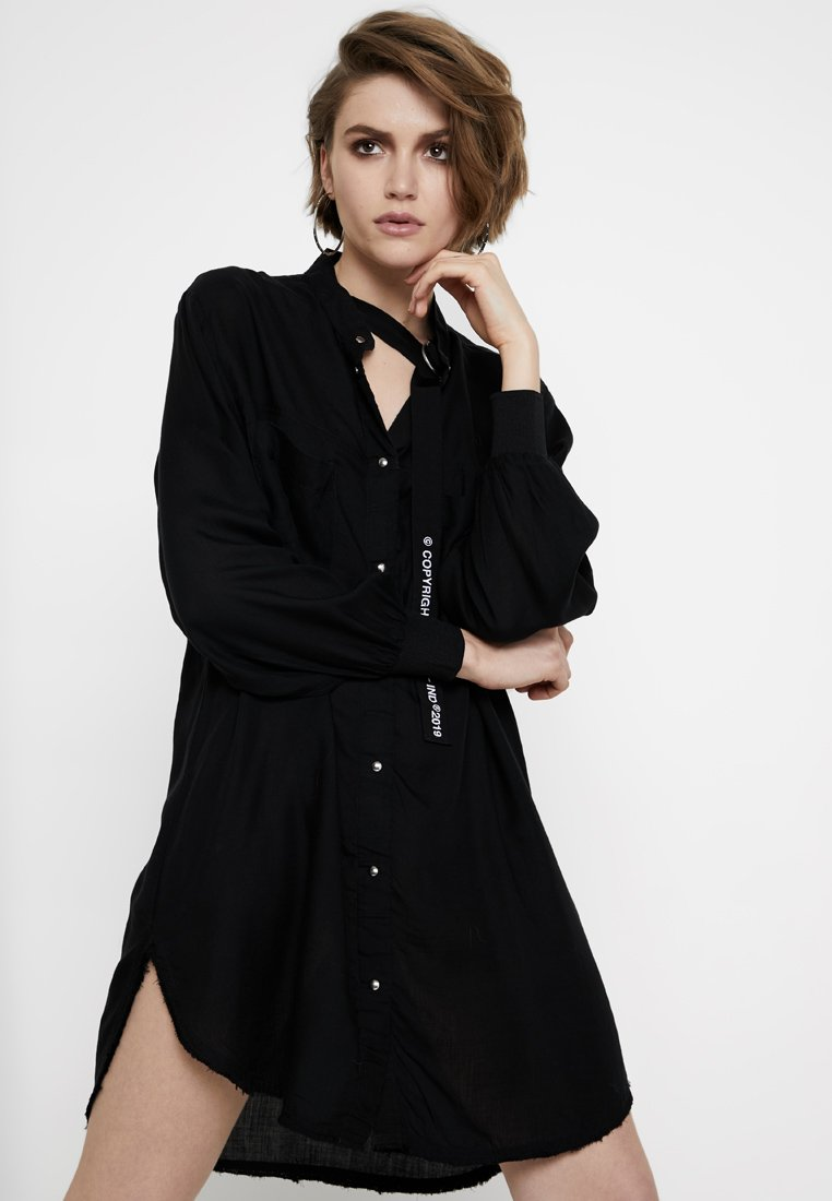 Diesel - SUPER DRESS - Korte jurk - black