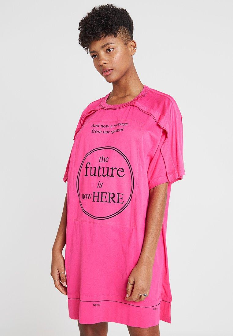 Diesel - JIP - Jersey dress - pink