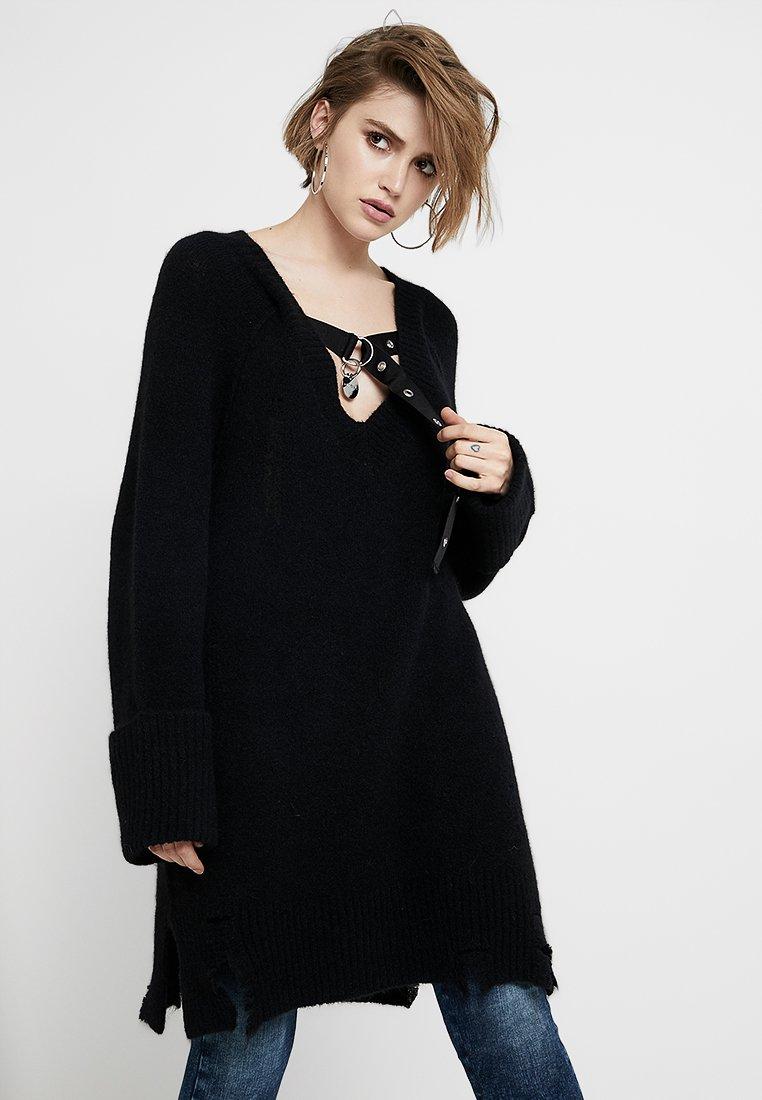 Diesel - M-NOELIA ABITO - Jumper dress - black