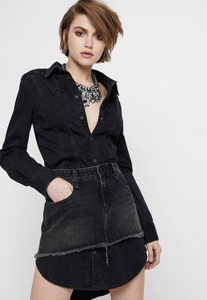 DARI ABITO - Korte jurk - black