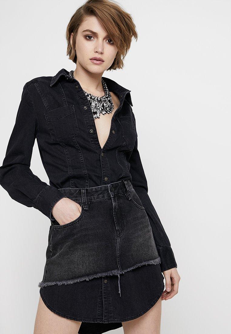 Diesel - DARI ABITO - Denní šaty - black