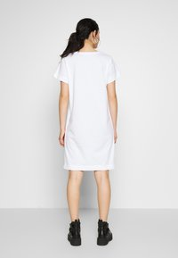 Diesel - D-STRIPE DRESS - Žerzejové šaty - white - 2