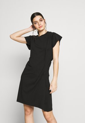 D-ATRIX DRESS - Jerseykjole - black