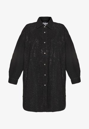 DRESS - Sukienka jeansowa - black