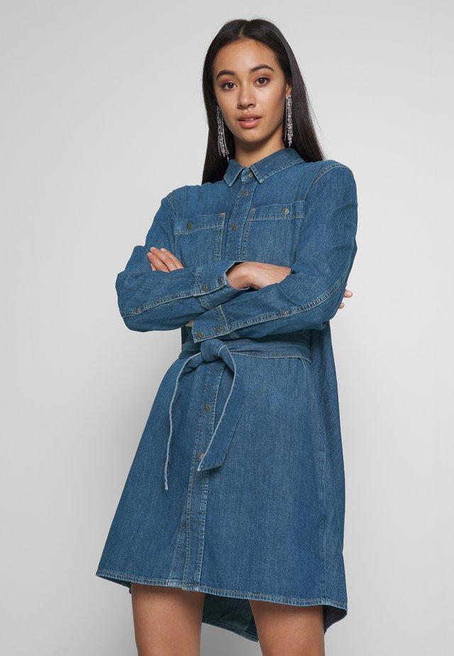 BLEU DRESS - Korte jurk - indigo