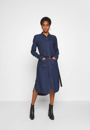 TOKYO DRESS - Farkkumekko - blue denim