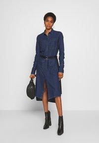 Diesel - TOKYO DRESS - Denim dress - blue denim - 1