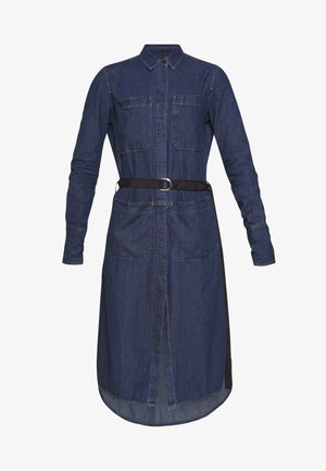 TOKYO DRESS - Denim dress - blue denim