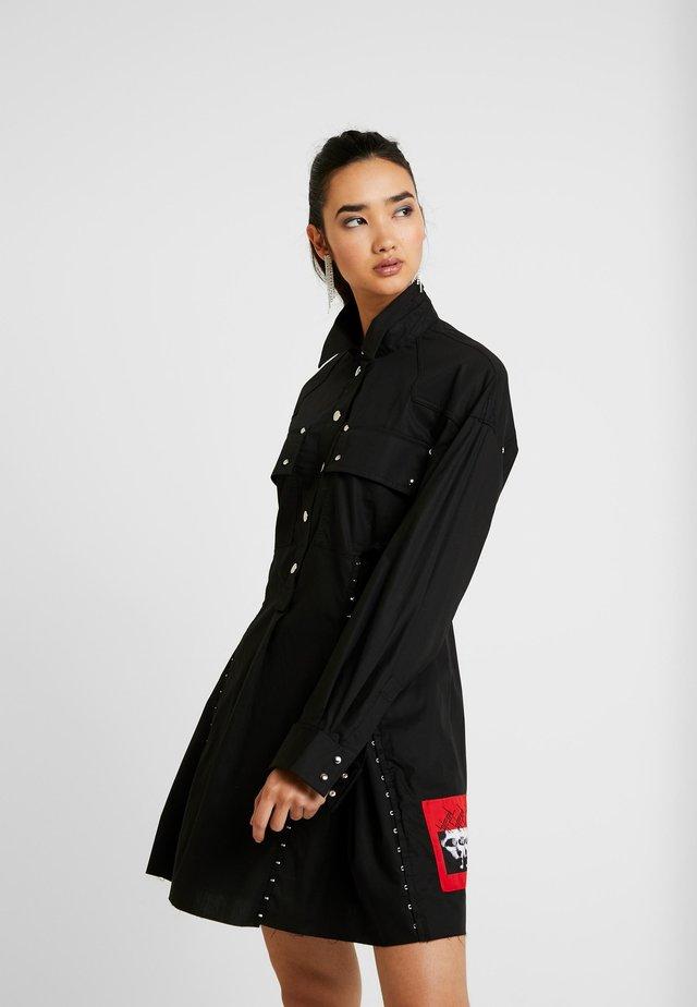 D-EDET - Sukienka koszulowa - black