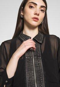 Diesel - RAHAN DRESS - Vestido largo - black - 6