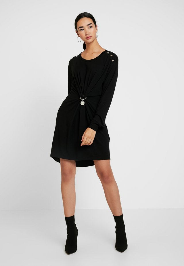 DESH DRESS - Trikoomekko - black