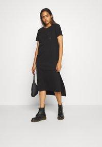 Diesel - FELIX LONG DRESS - Robe en jersey - black - 1