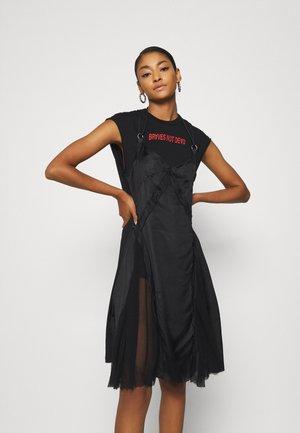 ALISHA DRESS - Jerseyjurk - black