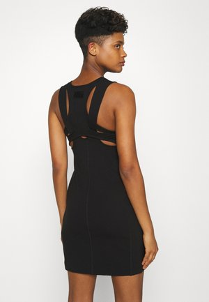 D-KLAREN DRESS - Shift dress - black