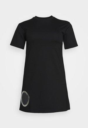 EYESIE DRESS - Žerzejové šaty - black