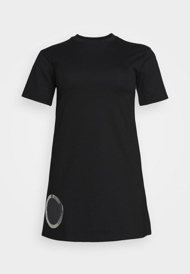 EYESIE DRESS - Robe en jersey - black