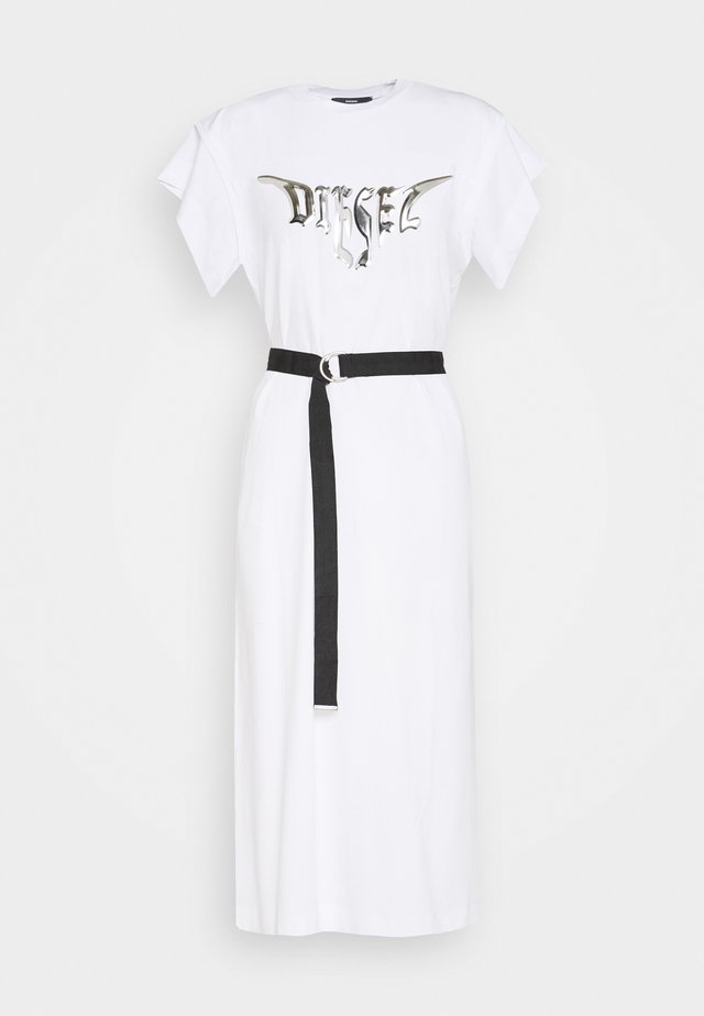 DRESS - Robe en jersey - white