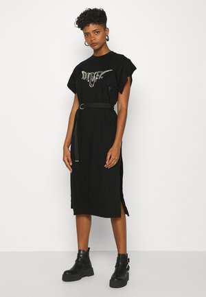 D-FLIX-C DRESS - Jerseyjurk - black