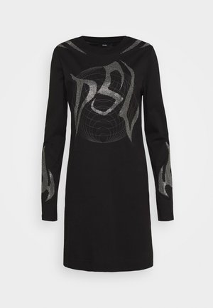 ROSSINA - Jersey dress - black