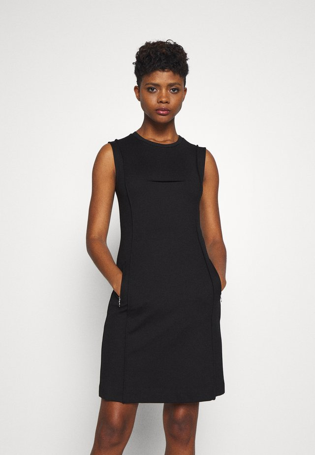 D-PHILO DRESS - Denní šaty - black