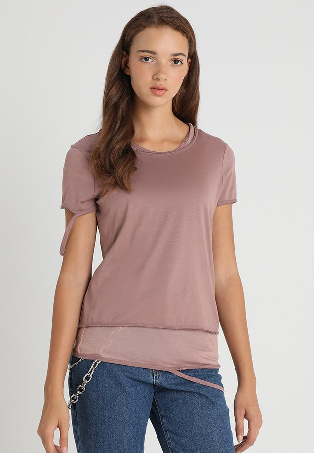 T-EMIKO T-SHIRTT-SHIRT - Print T-shirt - vintage rose