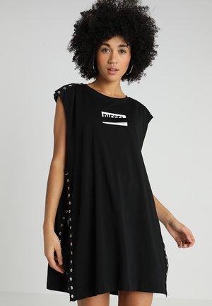 T-DESY-C T-SHIRT - T-shirt z nadrukiem - black