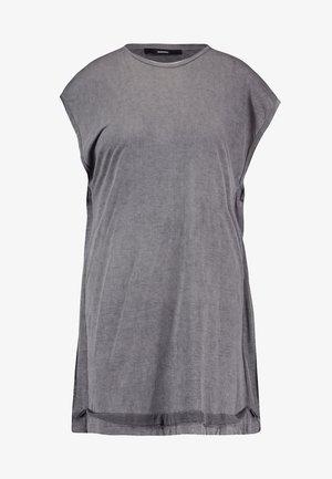T-SAVAH-A TANK-TOP - Camiseta estampada - grey