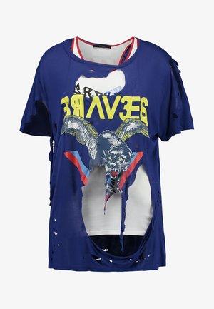 NATAI - Print T-shirt - blue