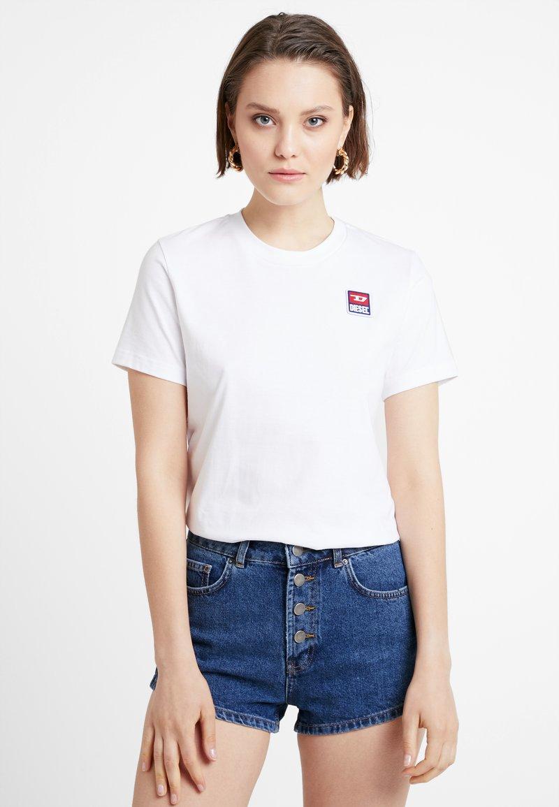 Diesel - T-SILY-ZE T-SHIRT - T-Shirt basic - white