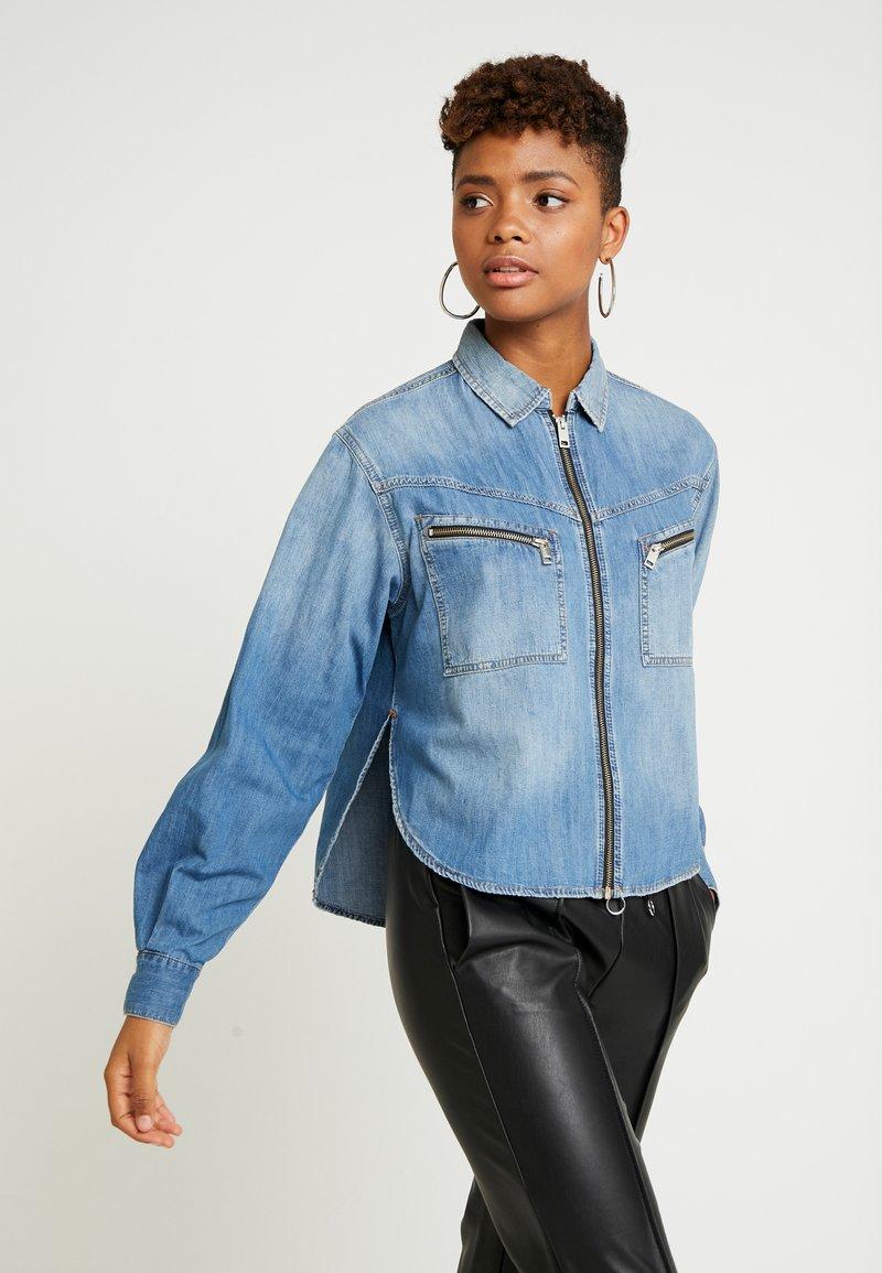 Diesel - BEAVER - Button-down blouse - indigo