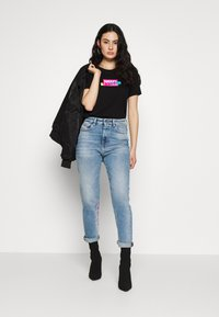 Diesel - T-SILY-S2 T-SHIRT - T-shirt con stampa - black - 1
