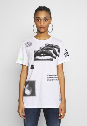 DARIA - T-Shirt print - white