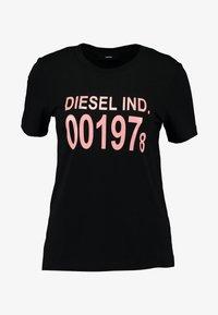 Diesel - T-SILY-001978 T-SHIRT - Triko spotiskem - black - 3