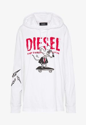 JUST HOOD - Camiseta de manga larga - white