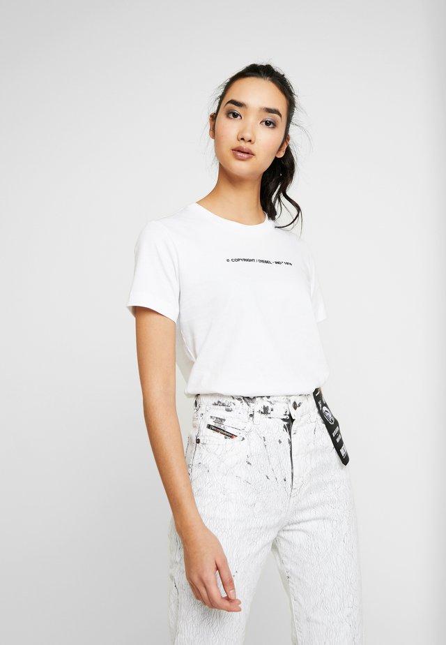 SILY COPY - T-shirt print - white