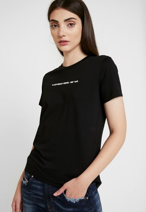 SILY COPY - T-shirt con stampa - black