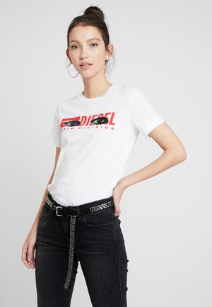 T-SILY-YD - T-shirt con stampa - white