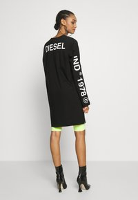 Diesel - T-ROSY - Top sdlouhým rukávem - black - 2