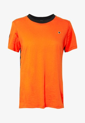SILYSLIT - Print T-shirt - orange