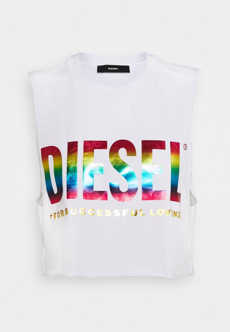 Diesel - BFOWT MUSCLE ROUNDIE - Top - white