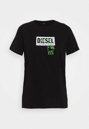 T-SILY-E52 T-SHIRT - T-shirt imprimé - black