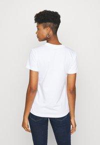 Diesel - SILY CUTY - T-shirt print - white - 2