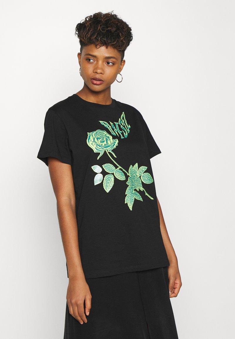 Diesel - DARIA - T-shirt print - black