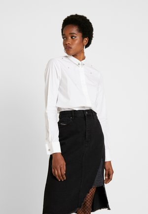 RAILY SHAPED - Button-down blouse - white