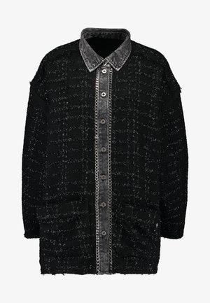 TAMU - Halflange jas - black