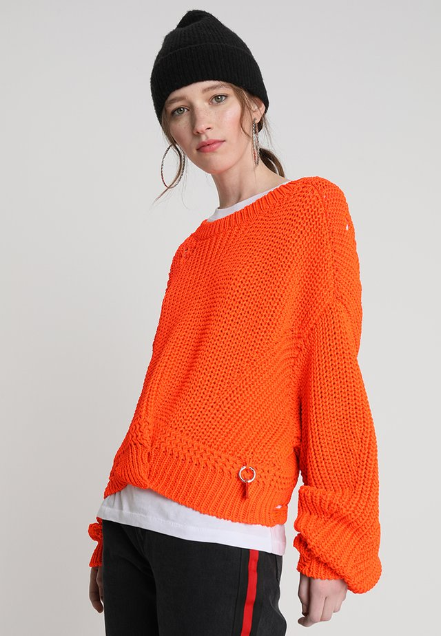 M-BABI PULLOVER - Trui - orange